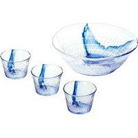 TOYO-SASAKI/東洋佐々木ガラス 流舞 大鉢そうめんセット G074-B67