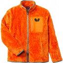 バタフライ 男女兼用フリース アルシェム フリース 45080 カラー オレンジ サイズ XO