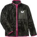 バタフライ 男女兼用フリース アルシェム フリース 45080 カラー ブラック サイズ L