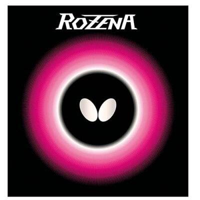 バタフライ ロゼナ 卓球ラバ- カラー:ブラック サイズ:特厚 #06020-278