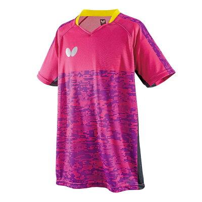 バタフライ エルクレスト・シャツ 45440 色 : ロゼ サイズ : M