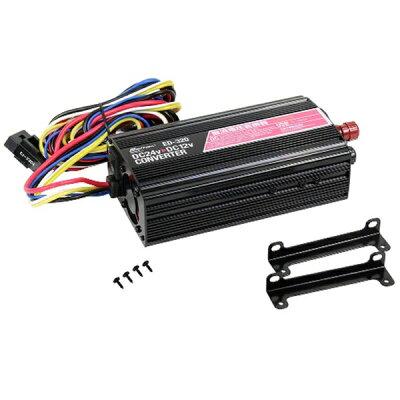 大自工業 DCDCコンバーター DC12Vソケット 1口 120W/陸式ターミナル/定格30A/USBポート:1ポート1A/配線タイプ ED-320