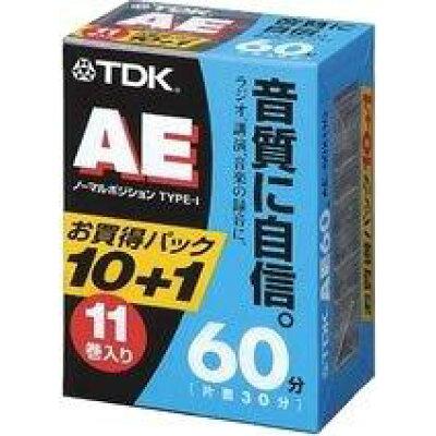 TDK オーディオカセットテープ AE-60X11G