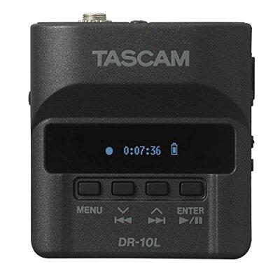 TASCAM ピンマイク付リニアPCMレコーダー DR-10L