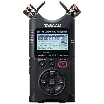 TASCAM ICレコーダー DR-40X