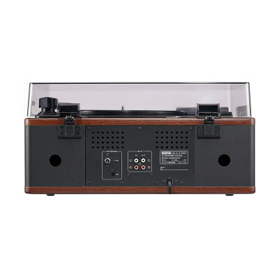 TEAC ターンテーブル カセットプレーヤー付CDレコーダー LP-R520-WA