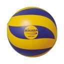 MIKASA ミカサ ソフトバレーボール SOFT100G 黄/青