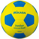 ミカサ サッカーボール スマイルサッカーボール軽量4号 イエロー/ブルー SF4J-YBL