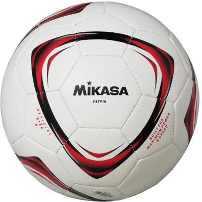 MIKASA ミカサ サッカーボール 4号 練習球 白 F4TP-W