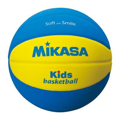 MIKASA ミカサ バスケットボール SB5-YBL 黄/青