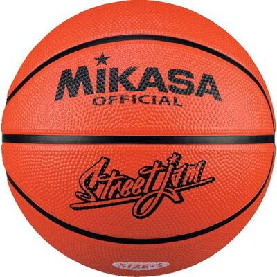 ミカサ MIKASA バスケット 5号 ゴム オレンジ B5JMR-O