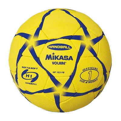 MIKASA ミカサ ハンドボール 1号 HP103-YB 黄/青