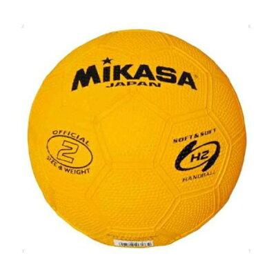 MIKASA ミカサ ハンドボール 2号 HR2-Y 黄