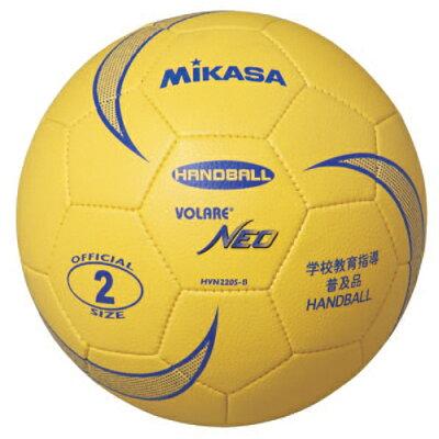 MIKASA ミカサ ソフトハンドボール 2号 軽量 180g HVN220S-B