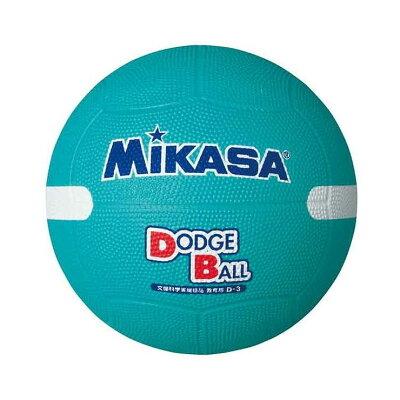 MIKASA ミカサ 教育用白線入ドッジボール3号 D3W G