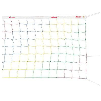 ミカサ バレーボール ソフトバレーネット ソフトバレーアンテナ ソフトバレーボール用カラーネット MIKASA NET-200
