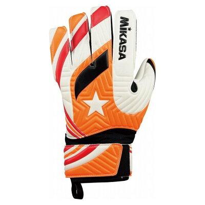 サッカーキーパーグローブ カラー:オレンジ サイズ:10号 L #GGO10