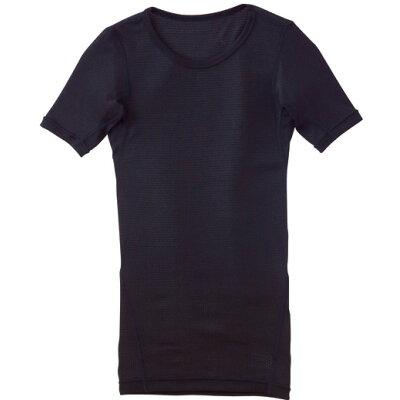 mizuno/ミズノ 73CK504-09 ドライアクセル メンズクルーネック半袖シャツ ブラック