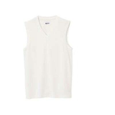 mizuno/ミズノ 75CH505-01 アイスタッチ エブリ・Vネックノースリーブシャツ ホワイト