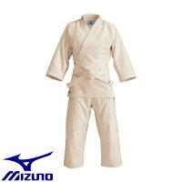 ミズノ Mizuno ジュニア 愛校 正課用 上衣 パンツ 帯  生成 ウェア 柔道着  22JG5A90