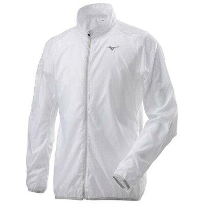 ミズノ mizuno メンズ ポーチジャケット ウィンドブレーカーシャツ ウインドブレーカー トップス 防風 マラソン ランニング ウェア j e8510