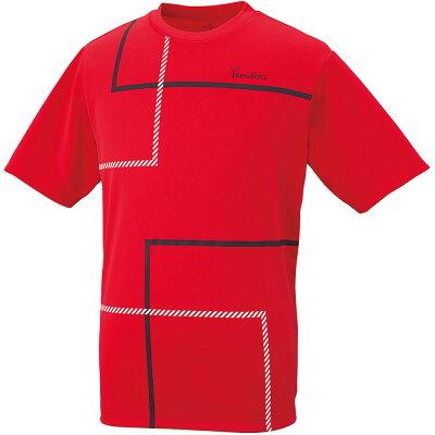 パラディーゾ メンズハンシャツ 58CM3A 色 : RD サイズ : L