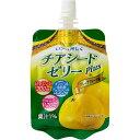 神奈川県清涼飲料工業協同組合 チアシードplusゼリー グレープフルーツ 180g