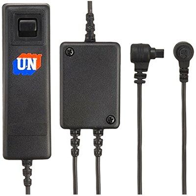 ユーエヌ UN UNX-4848 Wコードスイッチ キャノン3極 3Pin UNX4848