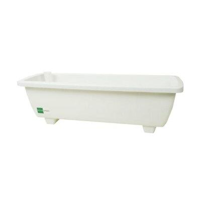 セロン/ロイヤルプランター#65F ホワイト/G0102 ガーデニング用品 プランター プラスチック