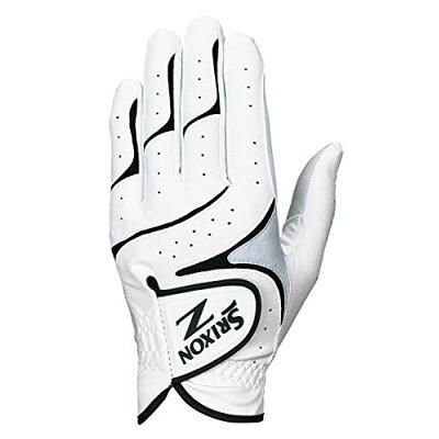 GGG-S016 ホワイブラツク 25 ダンロップ スリクソン ゴルフグローブ 左手用 ホワイト/ブラック 25cm DUNLOP SRIXON GGGS016ホワイブラツク25