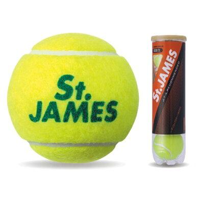 ダンロップ DUNLOP 硬式テニス プレッシャーボール St.JAMES(セント・ジェームス) STJAMESI4T 2015880707 0000