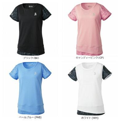 SRIXON テニスウェア レディース ゲームシャツ SDP-1863W SDP-1863W