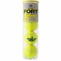ダンロップ テニスボール フォート FORT DFCPEYLPT4DOZ