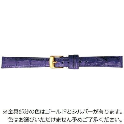 BAMBI バンビ 時計バンド 牛革型押し パープル BK009V-L 1128860