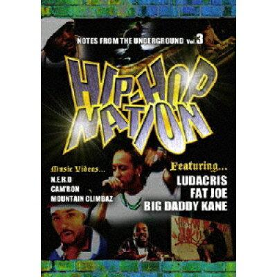 ヒップホップ・ネイション Vol.3/DVD/HMBU-1003