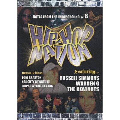 ヒップホップ・ネイション vol.8/DVD/HMBU-1008