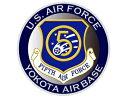 NC040S ステッカー アメリカ空軍 第5空軍 YOTA