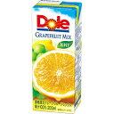 雪印メグミルク 20Dole グレープフルーツミックス100%