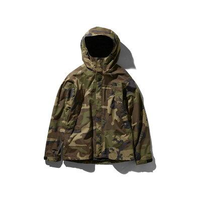 ノースフェイス THE NORTH FACE メンズ ノベルティースクープジャケット Novelty Scoop Jacket ウッドランド2 NP61845 WD
