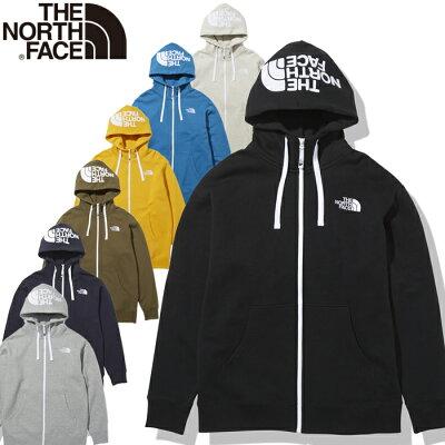 ノースフェイス THE NORTH FACE メンズ アウトドアウェア リアビューフルジップフーディ Rearview FullZip Hoodie ミックスグレー NT11930 Z