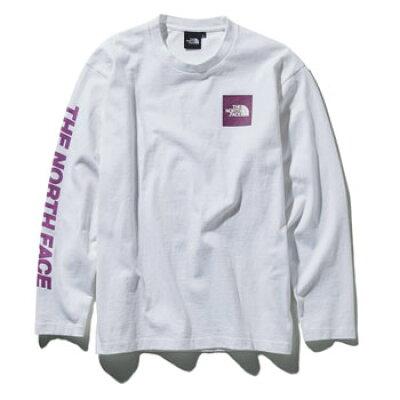 ノースフェイス Tシャツ 長袖 メンズ ロングスリーブスクエアロゴスリーブティー NT31951 W THE NORTH FACE