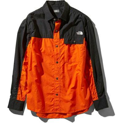 ノースフェイス メンズ シャツ ジャケット The North Face ロングスリーブヌプシシャツ NR11961 L/S Nuptse Shirt 11119ss