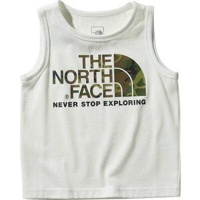 ノースフェイス THE NORTH FACE キッズ カモロゴタンク Camo Logo Tank ホワイト NTJ31993 W ジュニア