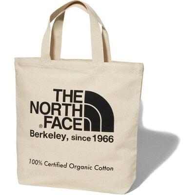 ノースフェイス THE NORTH FACE アウトドア TNFオーガニックコットントート TNF Organic Cotton Tote ナチュラル×ブラック NM81908 K