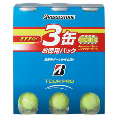 BRIDGESTONE(ブリヂストン) テニスボール ツアープロ 3缶パック