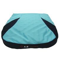 西川産業 AiR(エアー) ポータブルクッション 5×40×40cm ライトグリーン HDB6001013-LG AI0510
