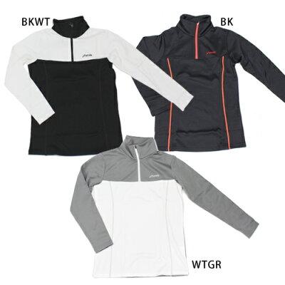 PHENIX フェニックス レディースアンダーシャツ  2016 Stretch Fleece Zip Moc PS582LS60