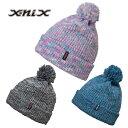 エクスニクス エクスニクス エクスニクス X-niX Gradation Beanie XN588HW52 帽子 ニット帽 ピンク