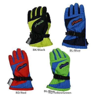 PHENIX フェニックス ジュニア スキーグローブ Demonstration Kid's Gloves PS7G8GL71