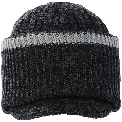 Phenix/フェニックス ウインター ビーニー ニット帽子 ヘッドアクセ BLIZZARD 2-WAY BRIM WATCH CAP PS778HW36 メンズ F BK